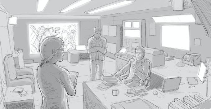 Gargantua Watch Group Headquarters Concept