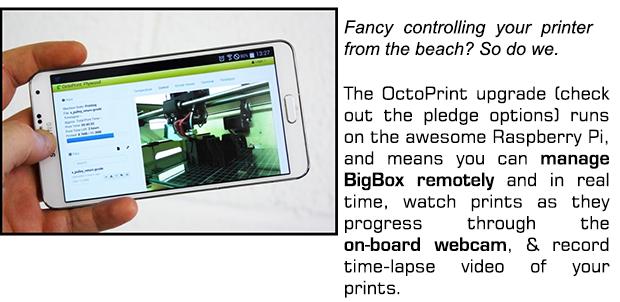 BigBox: THE Open Source Hi-Spec Desktop 3D Printer! by