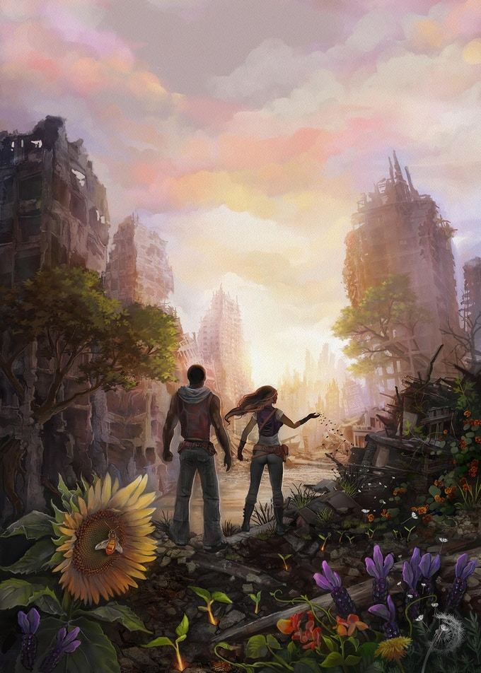 Cover Art for City of Refuge by Jessica Perlstein