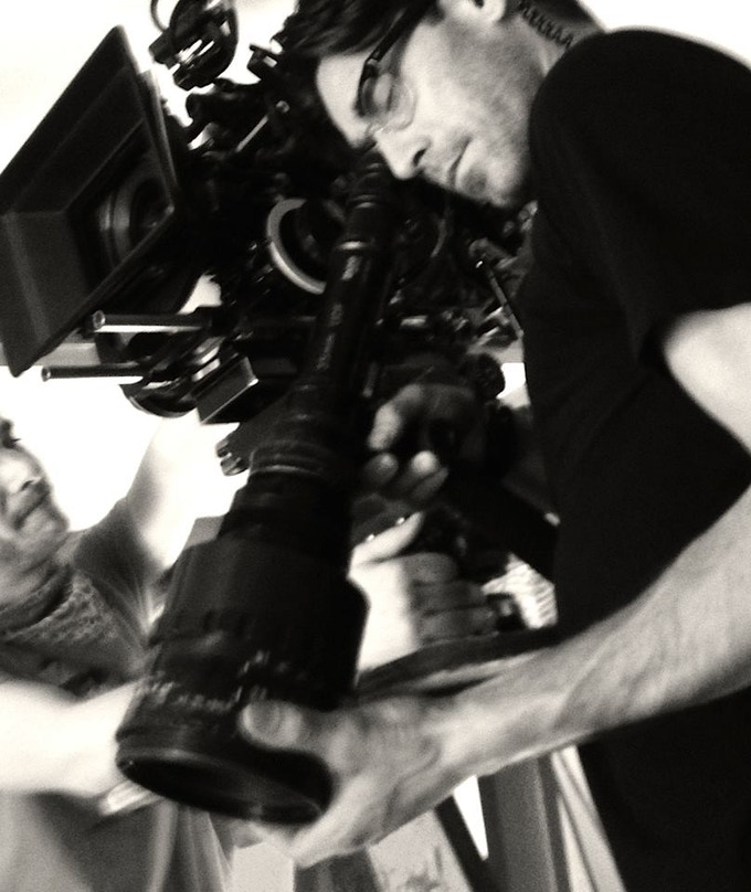 Our Director of Photography, Nicholas Trikonis