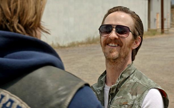 Brad Carter in SONS OF ANARCHY.