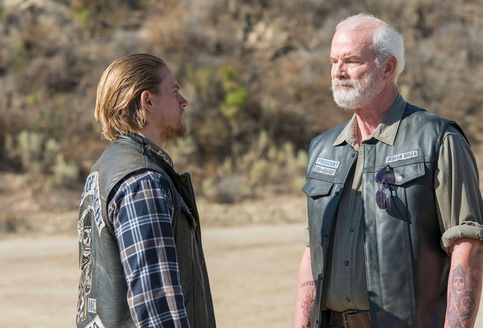 Mike Shamus Wiles in SONS OF ANARCHY.