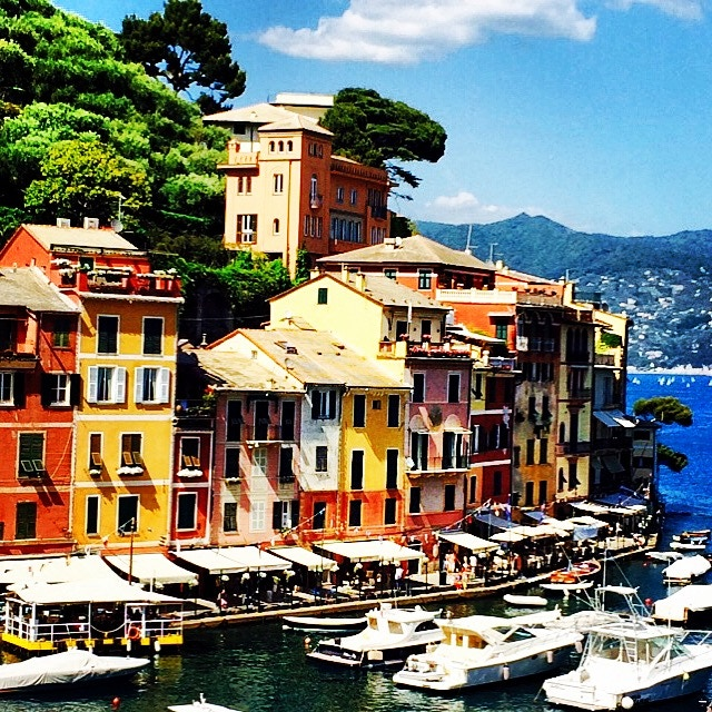 Portofino, Italy just a few miles from where I worked.