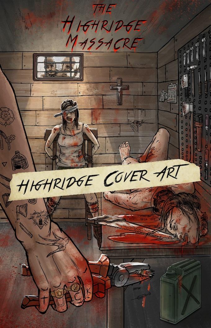 Highridge Massacre Poster Art