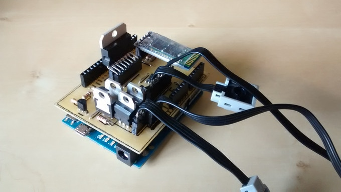 Pfshield arduino lego by michael hudson —kickstarter
