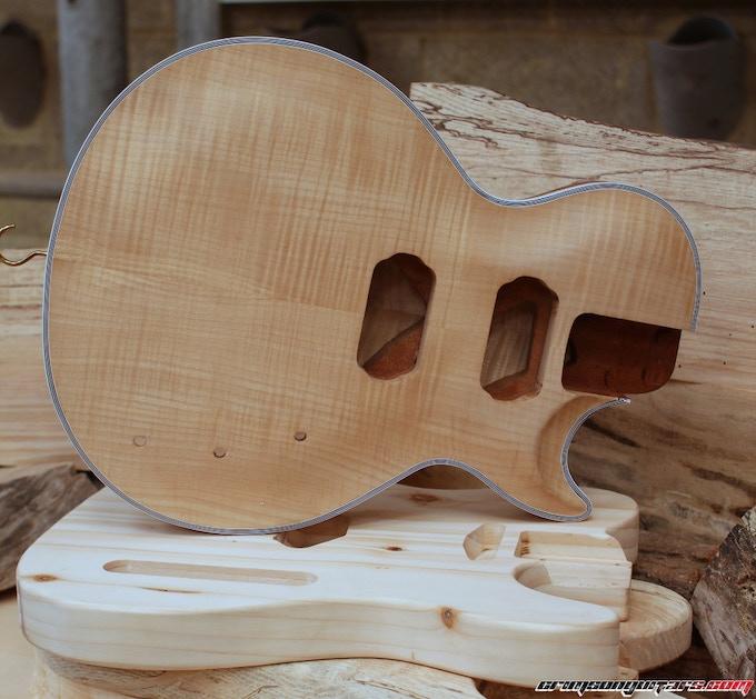 Uk Made Premium Kit Guitars And Basses From Crimson Guitars