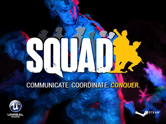 squad communicate coordinate conquer by offworld industries
