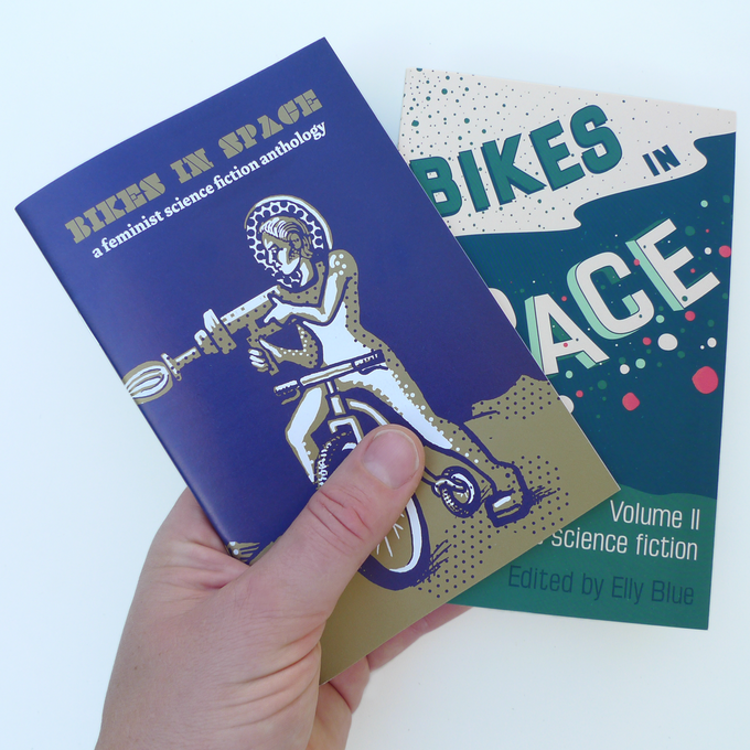 The first two volumes of Bikes in Space