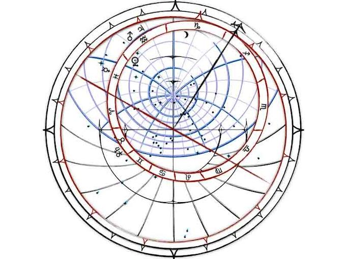 Custom Astrolabe Star Map