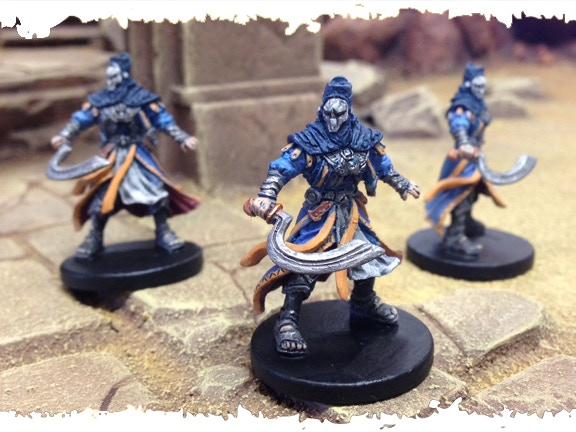The Priests of Set - Pre-Production Models