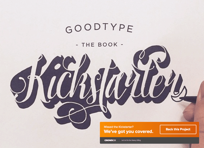 Goodtype The Book, Volume One is a 288 page curation of beautiful and eclectic letterforms from 175 artists and designers around the world.