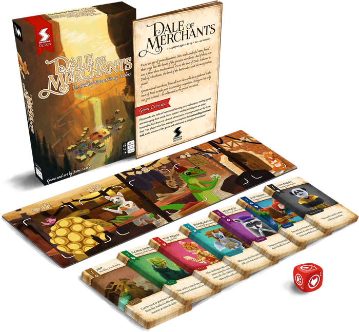 A highly adaptive, competitive card game for 2–4 players. Only the smartest and most cunning merchant can join the respectable Guild.