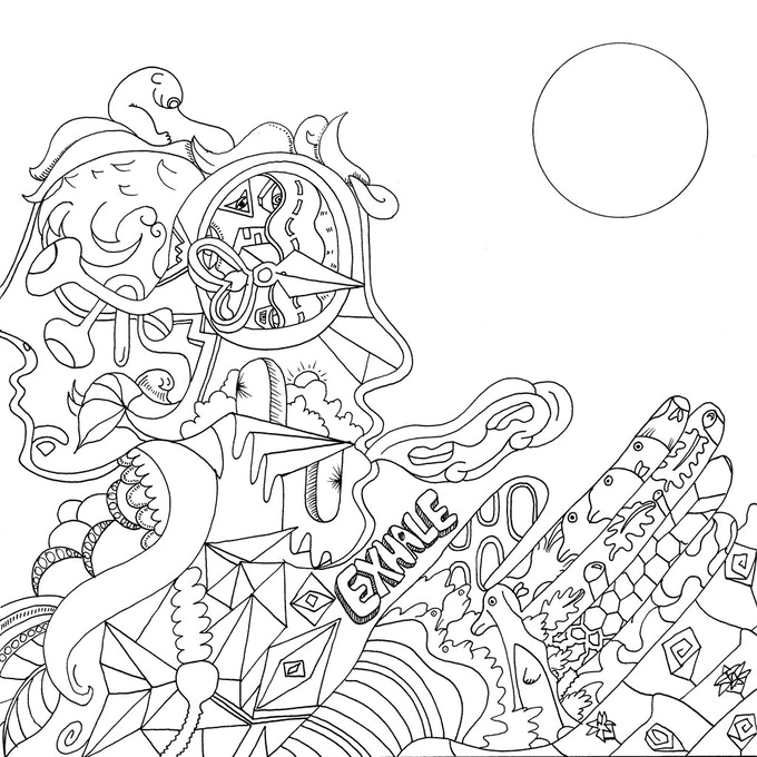 The Stoner's Coloring Book: Coloring for high-minded