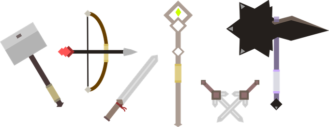 More weapon types!