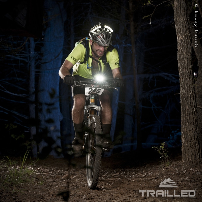 Trail LED Halo and bar-mounted XXX