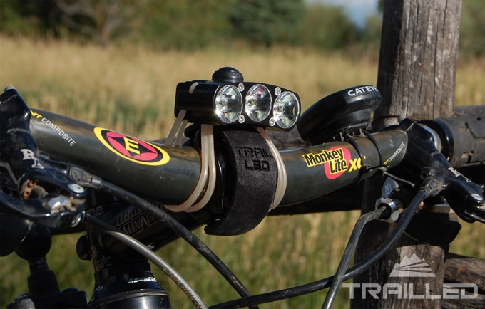 Trail LED XXX with bar mount