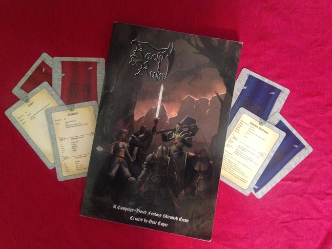 Rack & Ruin Core Rulebook, Spell Cards and Terrain Cards