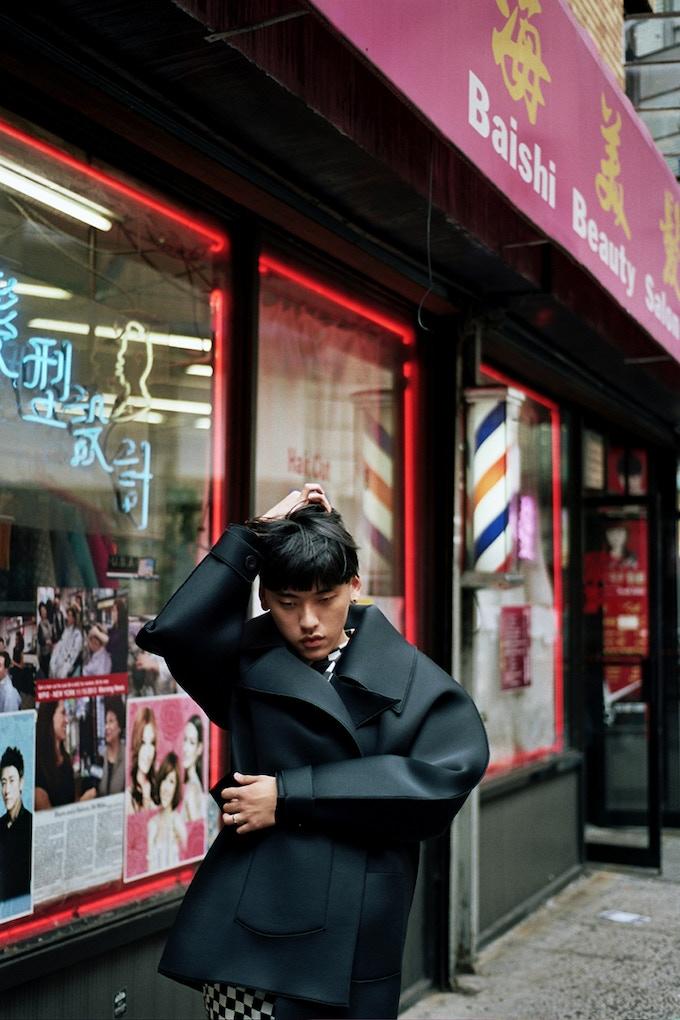 Designer & blogger Laurence Li.