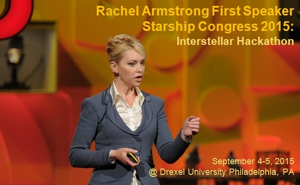 First Speaker—TED Talks Fellow Dr Rachel Armstrong
