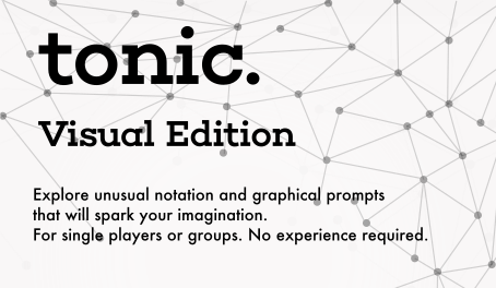 Uses cards similar to the doodles and graphs in the original Tonic. Inspired by the unconventional notation of composers like Iannis Xenakis, Anthony Braxton, and John Cage.