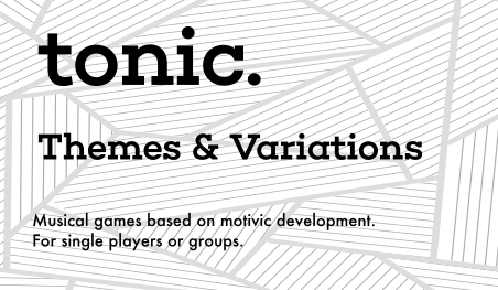 Games which help you take a simple theme and twist it around to form something new.