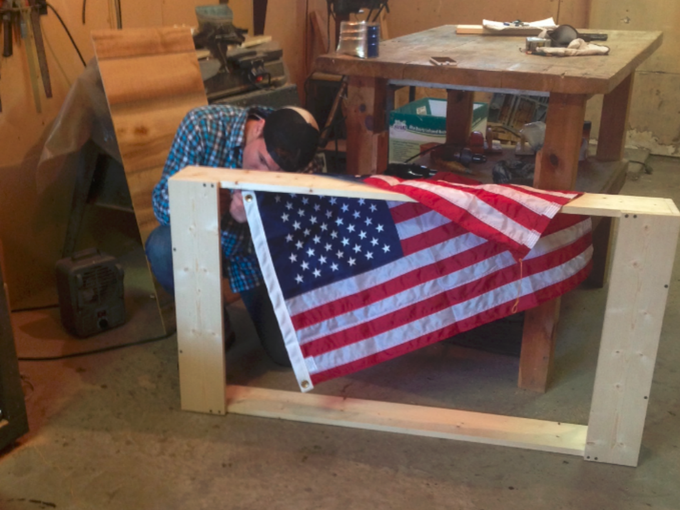 1776 Vision & The InMotion™ Frame: Give Freedom To The Flag by 1776 ...