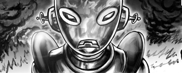 SHOWDOWN IN SPACE by LOKI DEWITT and UGUR SERTCELIK