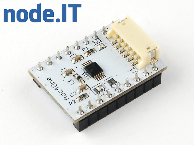 Module adding 4 channels 12 or 16 bit ADC