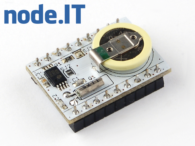 Battery backed up real time clock