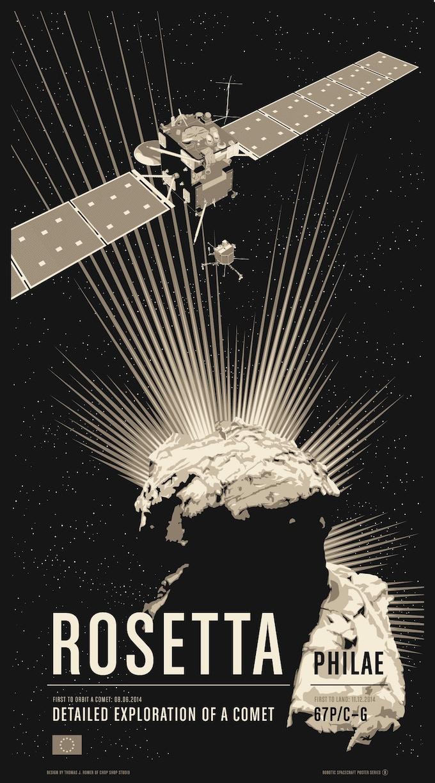 Poster #8 for Rosetta/Philae