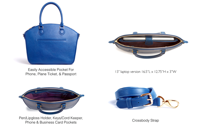 LDR Porter Bag Features
