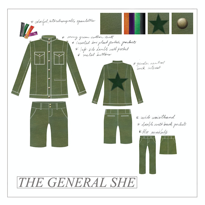 """The General She"" - SUIT HER by PFZ"