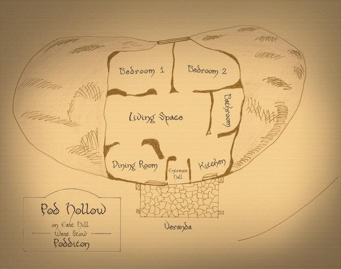 The Poddit Hole Floor Plan