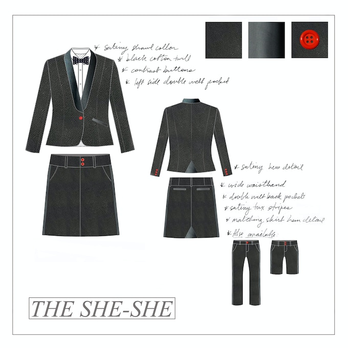 """The She-She"" - SUIT HER by PFZ"