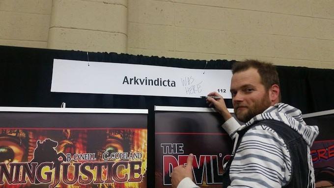 Jeramie Worley at Tulsa Comic Con 2014