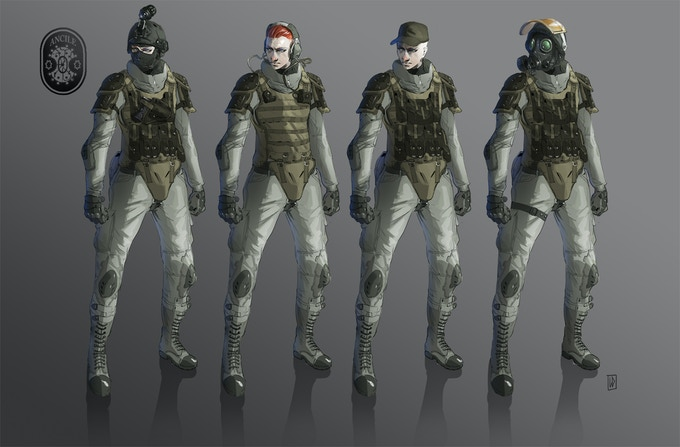 Ancile Soldiers