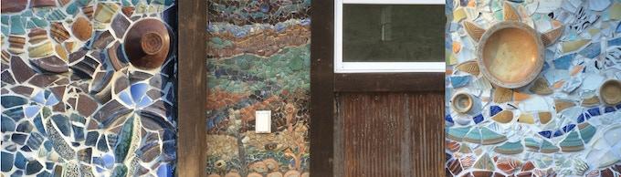 Mosaic Squares & Mosaic Wall