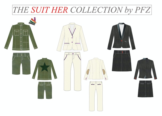 The SUIT HER Collection by PFZ