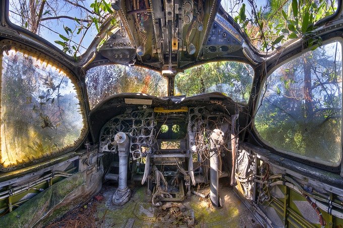 """""""The Final View"""" - The Airplane Graveyard - St. Augustine, FL"""