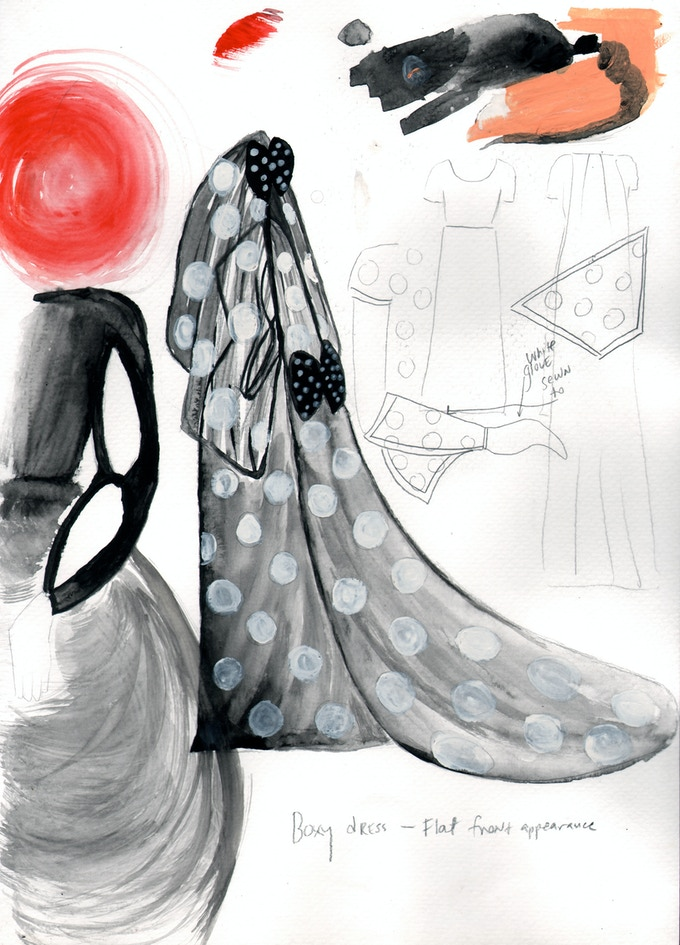 Some sketches for Season Two costumes