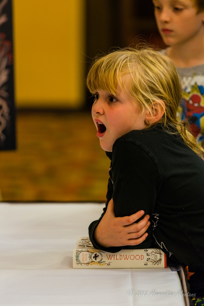 Yup, kids really can get this excited about books (2012 festival)