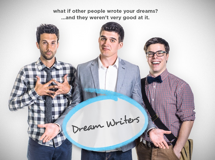 Dream Writers is a present-day sitcom that poses the simple question: What if other people wrote your dreams?