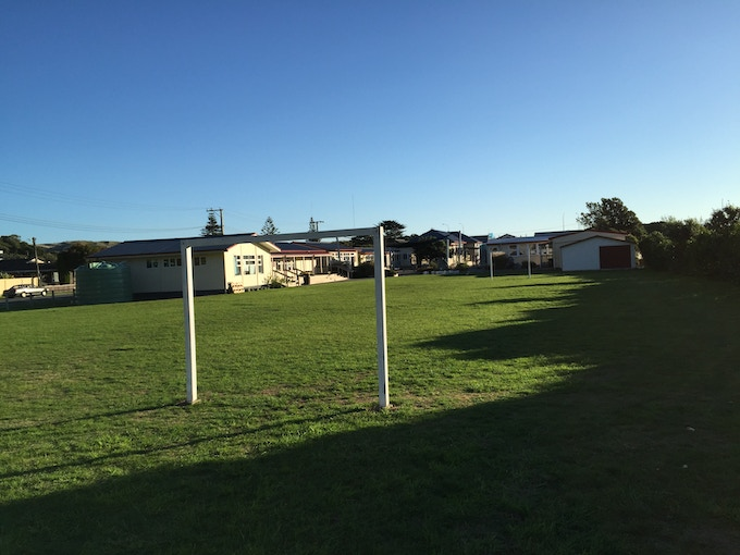 St. Theresa's Primary School, Plimmerton (Location for the shoot)