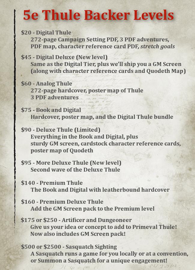 Primeval Thule 5e by Sasquatch Game Studio LLC — Kickstarter