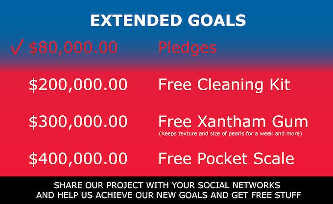 Help Us Reach Our Extend Goals!