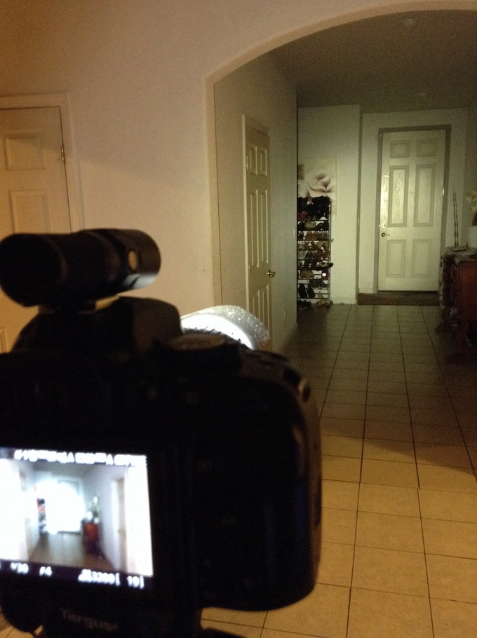 Beam shots: Fenix PD12 on camera
