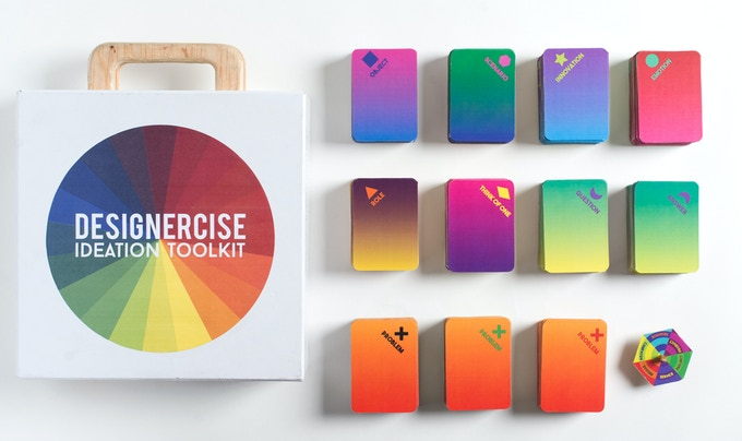 Designercise: A Creative Thinking Game and Ideation Toolkit by Leyla