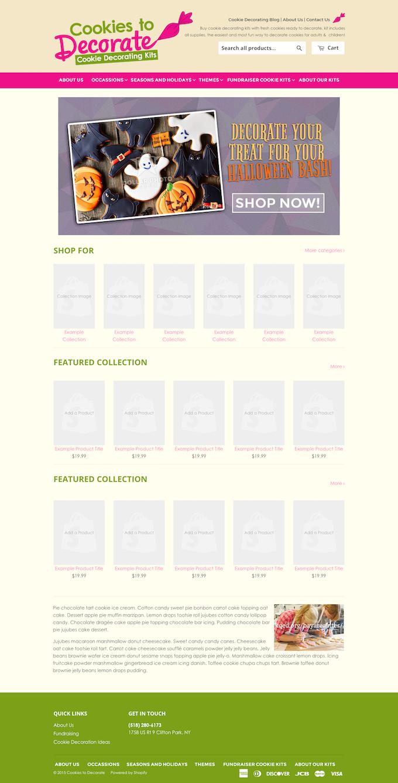 Cookies to Decorate Website Development