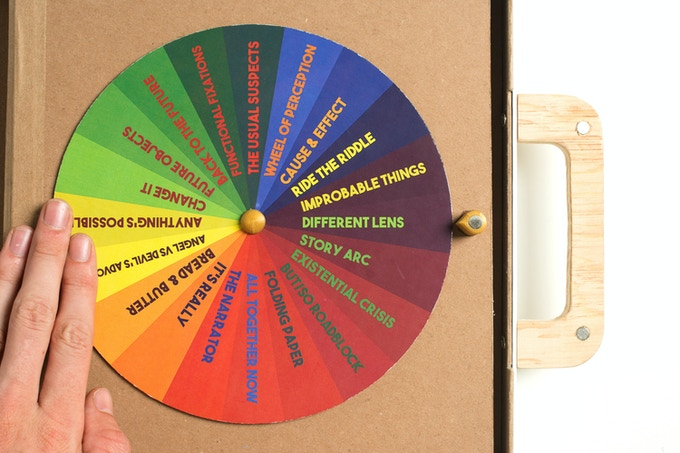 The Designercise Game Selector Wheel
