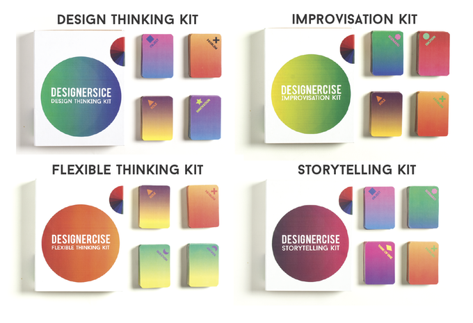The small Designercise Kits